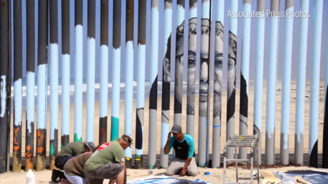 Fresno State alumna aims to 'erase' U.S. border with mural showing faces of deportation