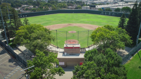 Take flight over Fresno's historic John Euless Ballpark
