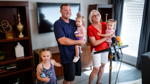 Fresno firefighter whose wife died giving birth to twins awarded 'Extreme Makeover' home