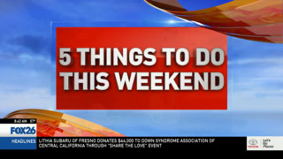 Five Things to Do This Weekend