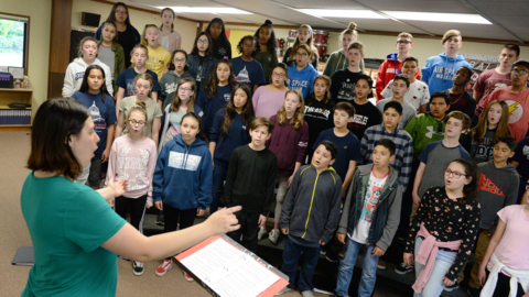 Fresno students went to Washington DC to sing in a national competition. They came back winners