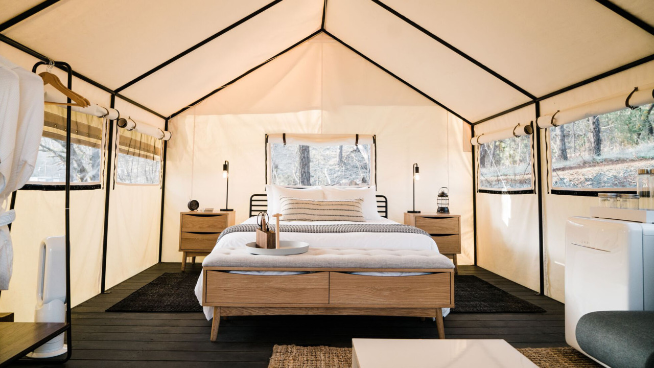 Yosemite glamping: Tent cabins, yurts, Airstreams and RVs in and near the national park