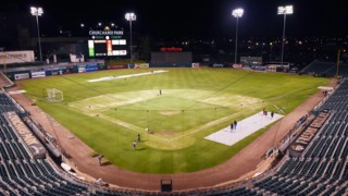 Watch timelapse magic as soccer field changes to baseball infield at Chukchansi Park