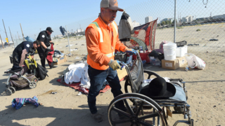 Fresno's homeless task force hauls off 2 tons of trash a day