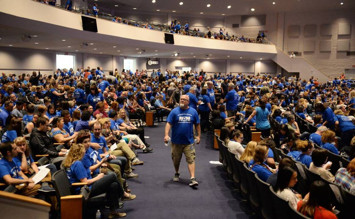 Fresno Unified teachers vote to authorize a strike against ...
