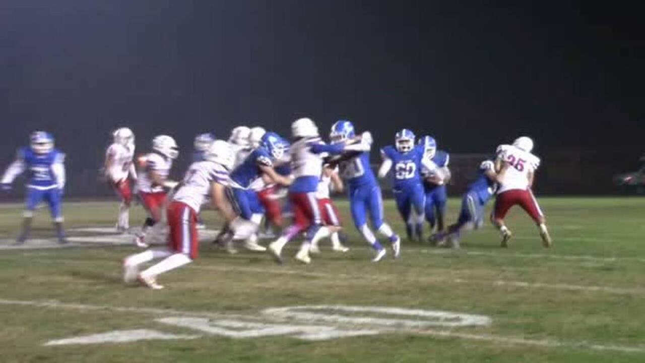 Watch how Caruthers finished off Firebaugh for Central