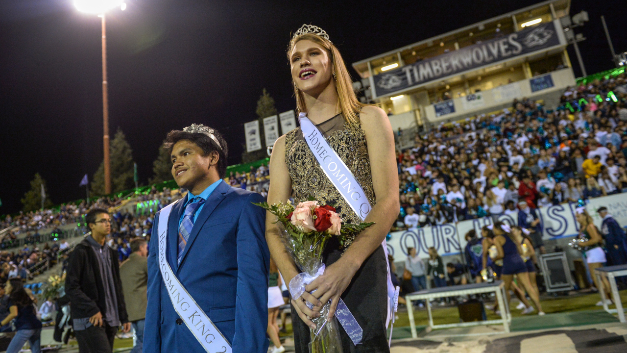 'Gender neutral' student crowned homecoming queen at Clovis East