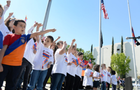Armenian Genocide commemorated during annual flag-raising ceremony