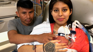 She and her baby survived a 'miracle' birth