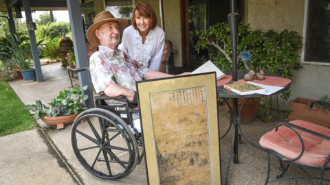 Korean 'national treasure' found at Fresno estate sale. Now it's back at museum in Korea