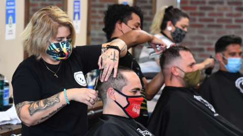 Fresno-area barbers, salons reopen after new COVID-19 orders — but frustrations linger