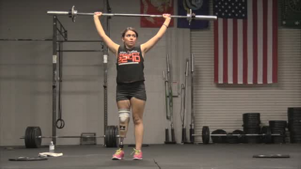 Fresno Famous: Young amputee inspires through CrossFit
