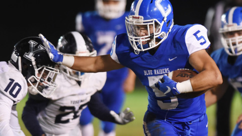 Caruthers High steamrolls Yosemite 57-20 in D-V playoff