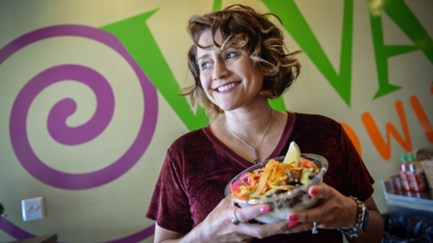 Everything in this new Fresno restaurant is served in bowls. Plus, there's a rock garden