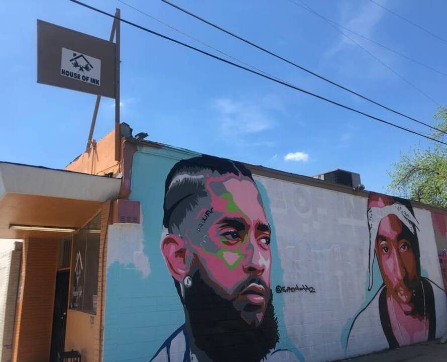 Nipsey Hussle and Tupac mural pops up together in Fresno | The