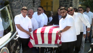 The only way this former Marine was allowed home was in a casket