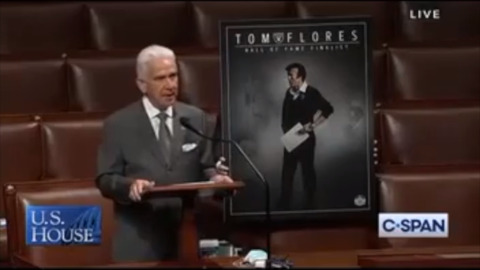Congressman Jim Costa honors former Raiders coach Tom Flores for Hispanic Heritage Month