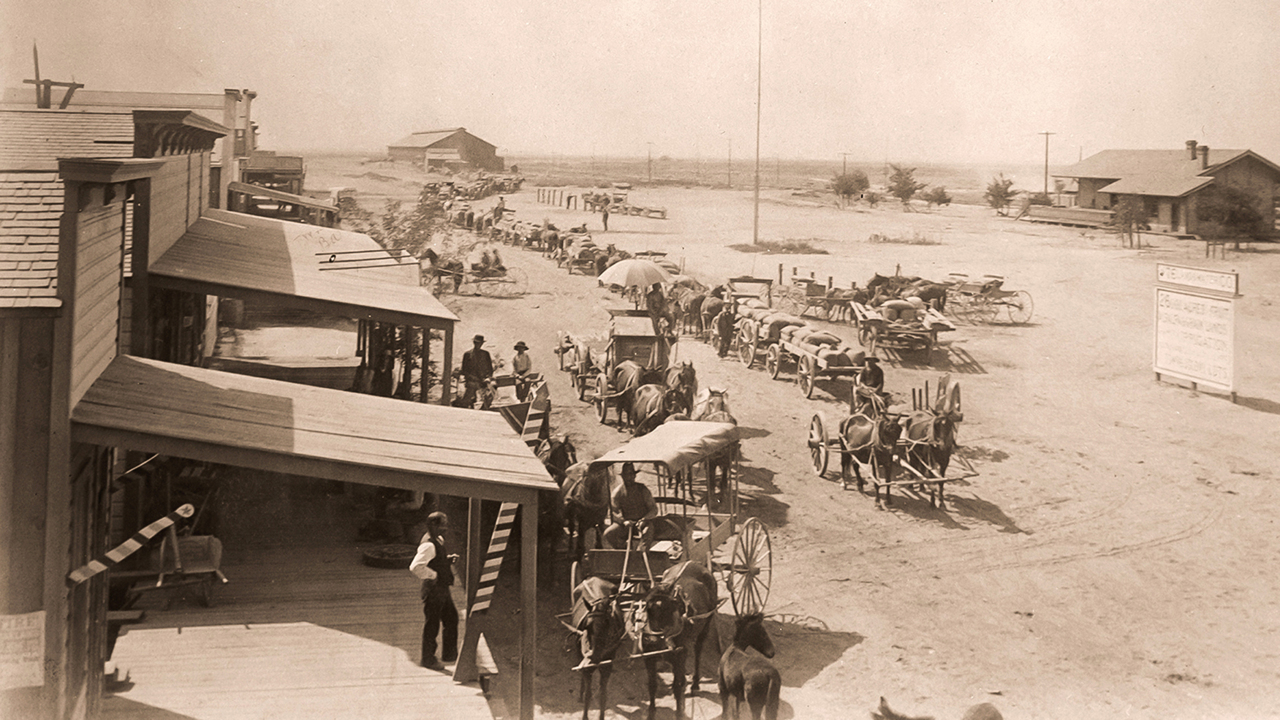 Water gave life to this Central Valley boomtown in the 1880s – then took it away