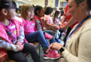 See what happens when every Jefferson Elementary student gets new athletic shoes