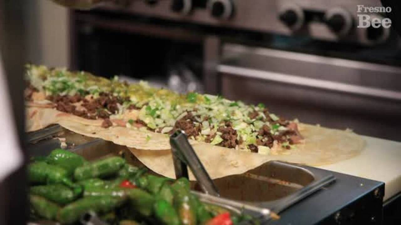 This Fresno restaurant's gigantic burrito went viral. Now it's opened a second location