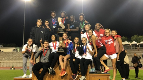 Buchanan girls and Clovis North boys celebrate CIF State Track and Field Championships