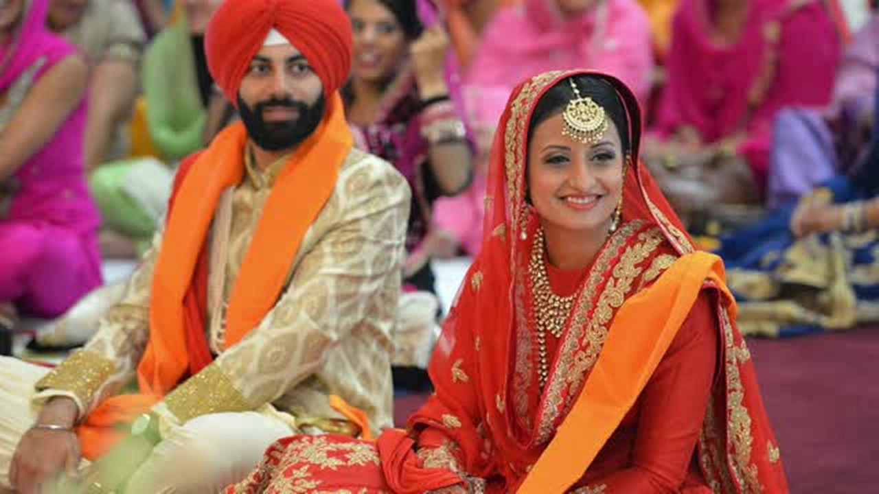 Couple shares traditional Sikh wedding to educate, promote