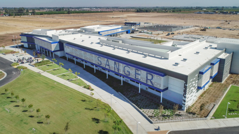 Get a look at Sanger Unified's high-tech west campus school complex in southeast Fresno
