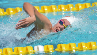 Central Section Division I swimming finals