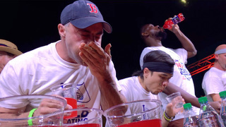 Top eaters of the world throw down as many tacos as they can in 8 minutes