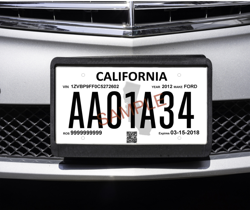 New California license plate law replaces dealer plates