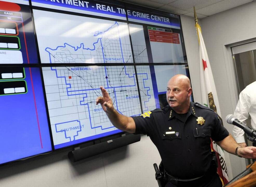 Fresno police unveil state-of-the-art crime tracking system