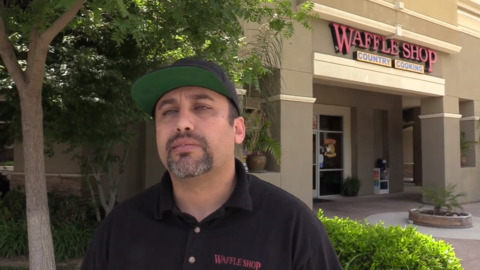 Fresno issues 2 business COVID fines, including Waffle Shop. Owner responds with message