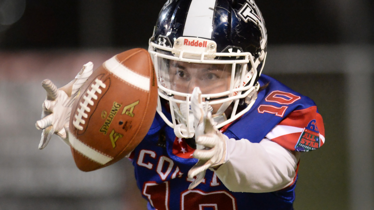 City emerges from fourth-quarter fireworks with 15-13 win over County in football all-star game