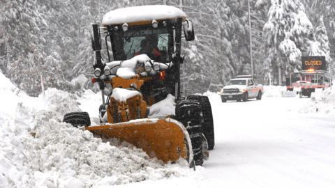 Highway 168 will stay closed due to snow at Shaver, CHP says. Here's when it might open