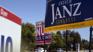 Nunes and Janz among campaign signs in north Fresno
