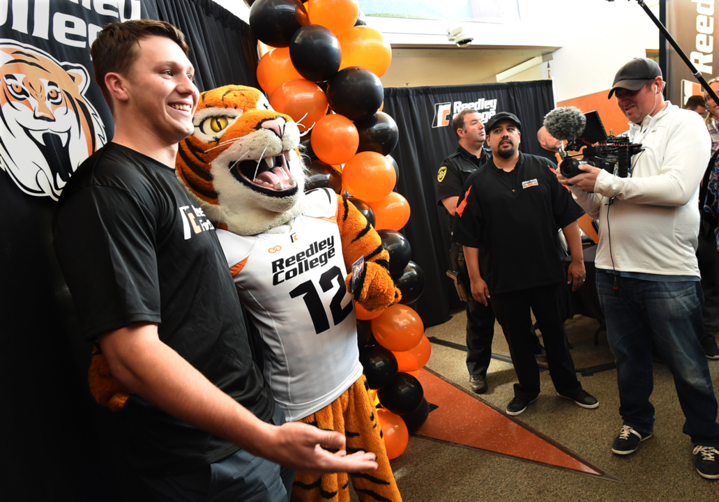 Josh Allen Reedley College Homecoming Nfl Draft The Fresno Bee