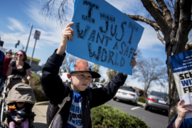 Merced residents call for stricter gun laws during March for Our Lives