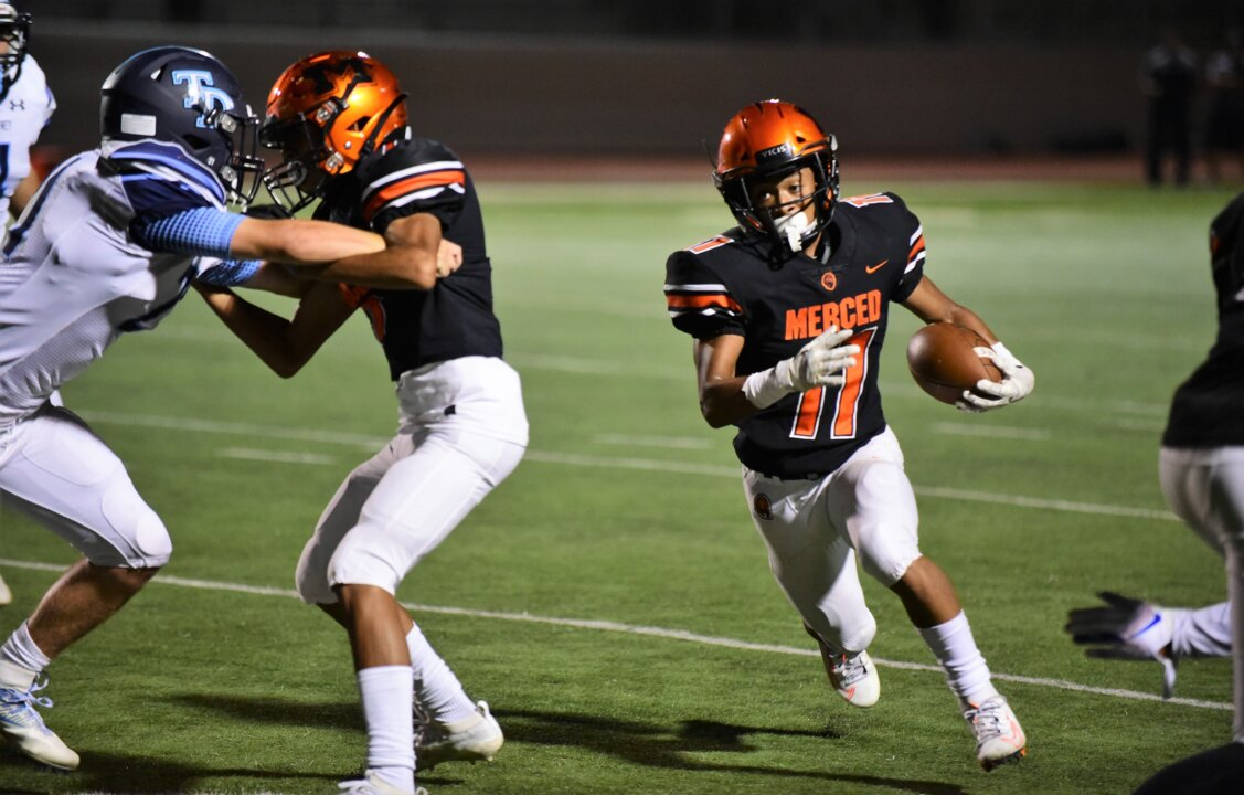 'He's great at everything.' Merced High star looks to lead on the field, on campus