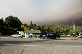 Ferguson Fire forces campsite evacuations and alternate routes to Yosemite