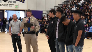 Livingston High students honored for heroic efforts saving unconscious truck driver