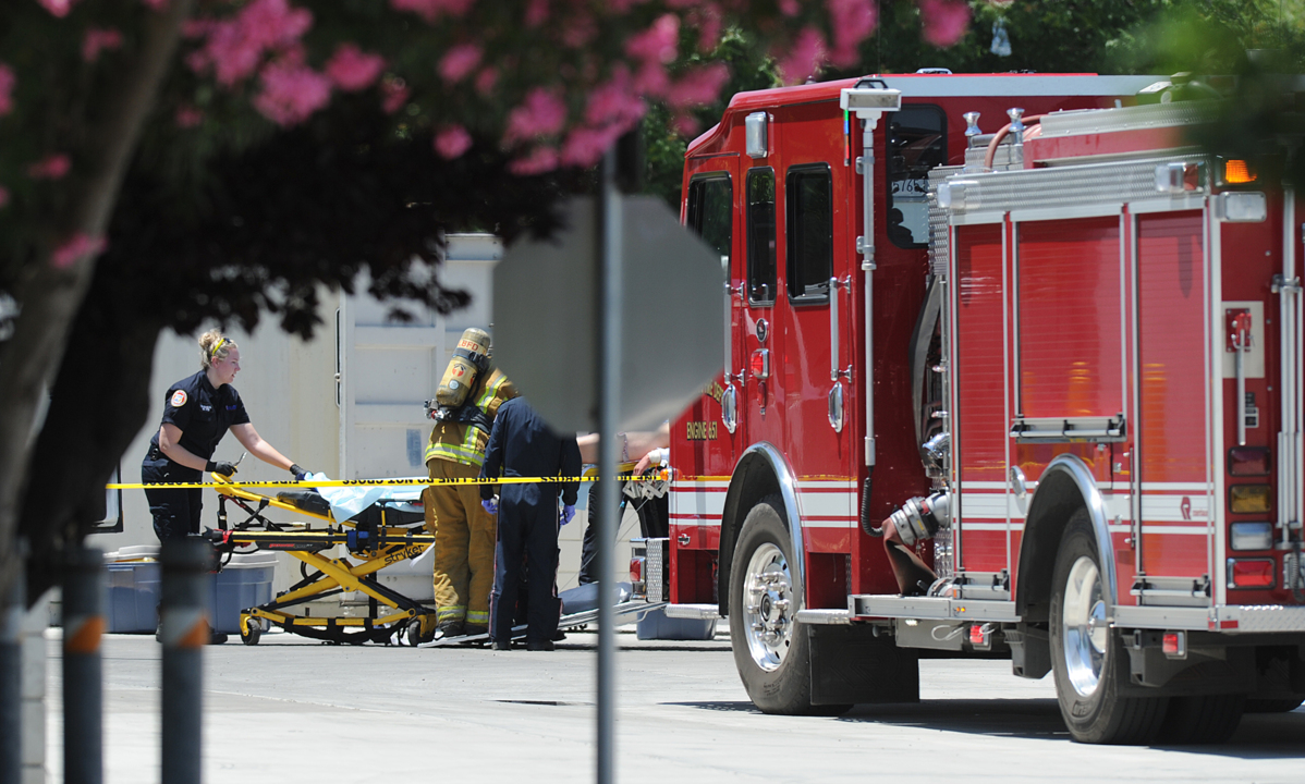 One dead, another injured in HAZMAT incident in Merced County.