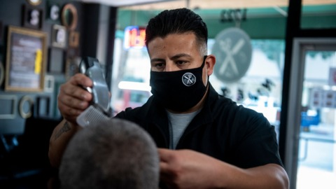 'It's been pretty hard.' Merced County hair salons, barbershops reopen for indoor business