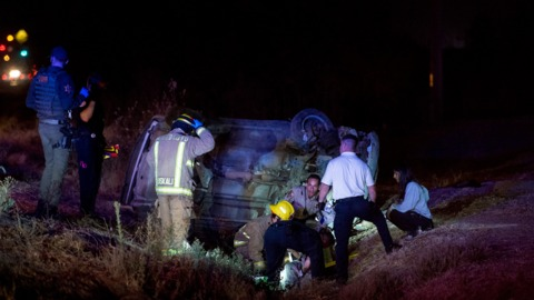 Merced man thrown from vehicle in rollover crash, CHP says
