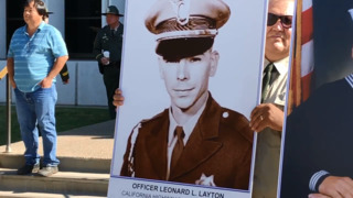 Merced County memorial honors fallen law enforcement