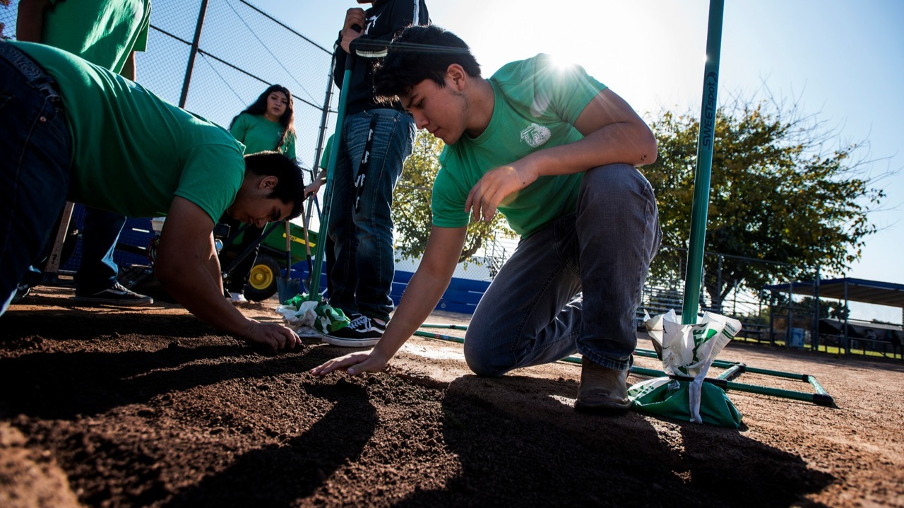 What 'growing' industry combines ag with sports? Atwater high students are finding out