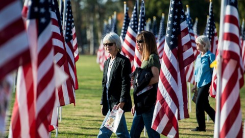 Video: Field of Honor opening ceremony in Merced