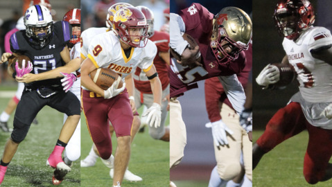 Who should be the Merced Sun-Star Football Player of the Week for Oct. 12 games?