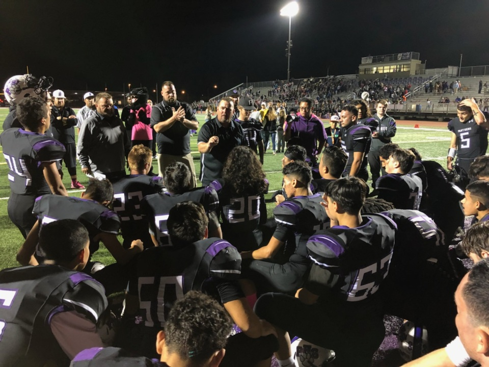 Moran's big night helps Pacheco move a step closer to its first league championship.