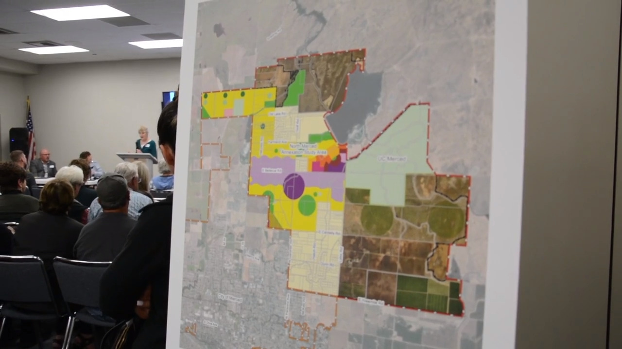 Merced could add 50 percent more land to the city. Not everyone is happy about that