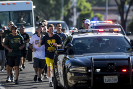 Law enforcement runs torch through Merced County for Special Olympics
